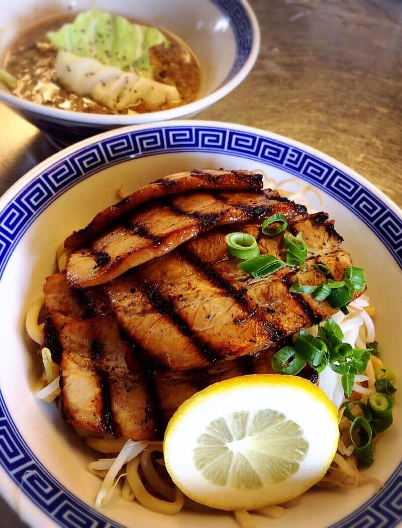 「日本一馬鹿豚温野菜つけ麺」8月18日~23日限定販売します
